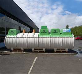 Tricel Novo wastewater treatment plant commercial size
