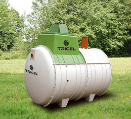 Tricel Novo wastewater treatment plant
