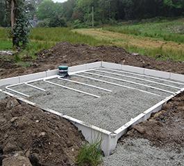 Tricel Sandcel installed