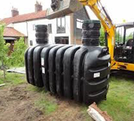 Tricel Vento septic tank installation